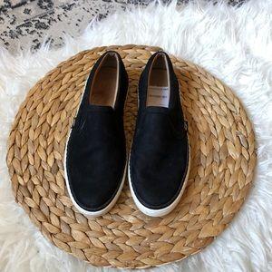 Ugg Soleda Slip-On black suede Sneakers 5.5